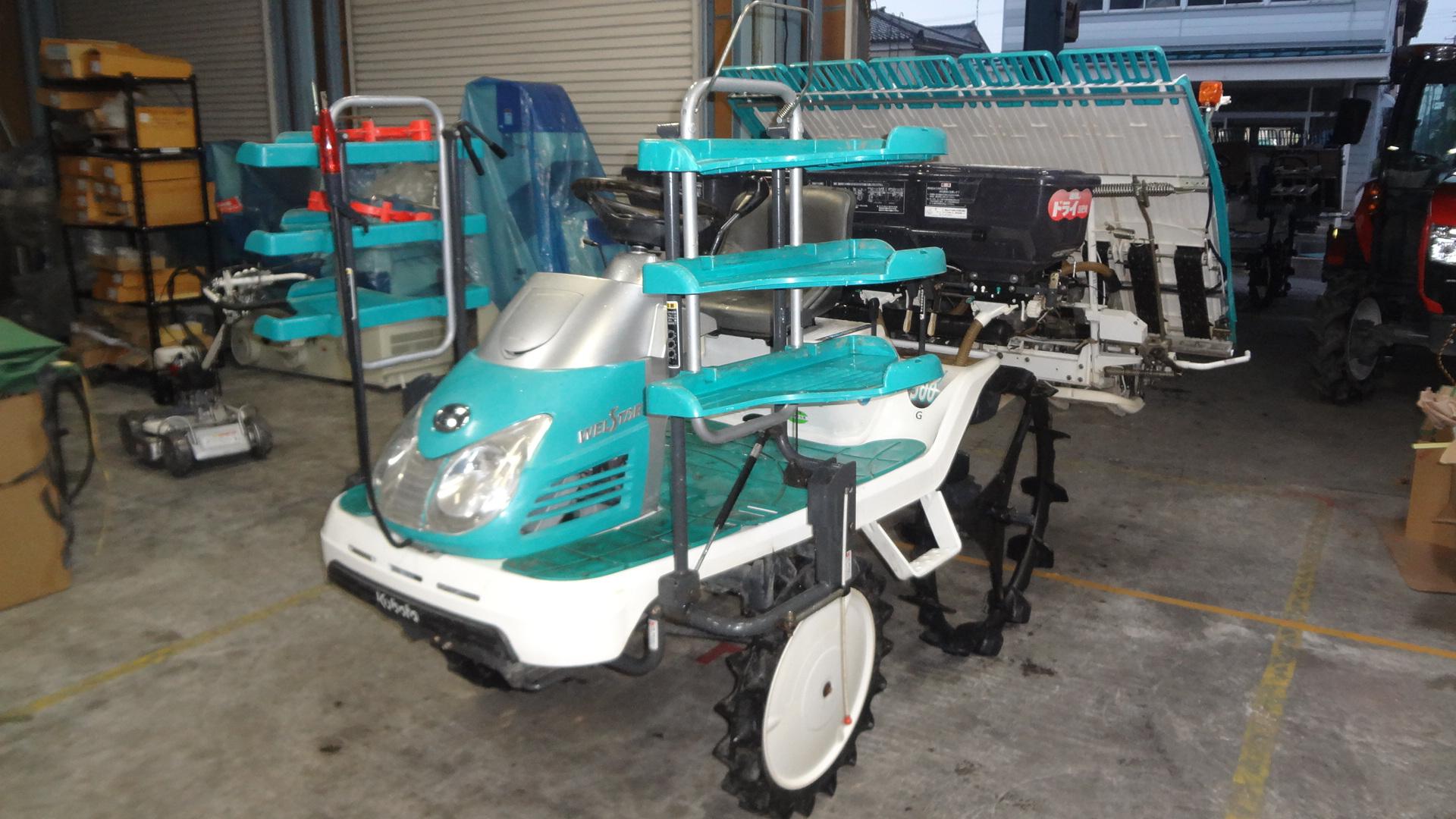 中古田植え機5条 SPU500GIT5F 施肥付 大径車輪 クボタ