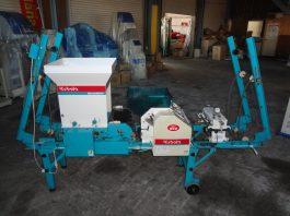 中古播種機 クボタ(大和精工)SR231KRW 毎時230~280枚能力 土入れ付