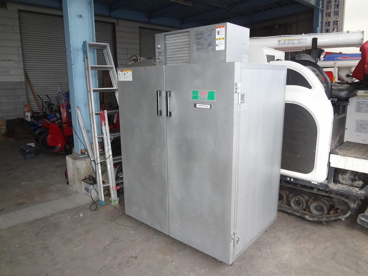 中古保冷庫18袋9俵用 静岡菜庫 GB1300 AC100V350W