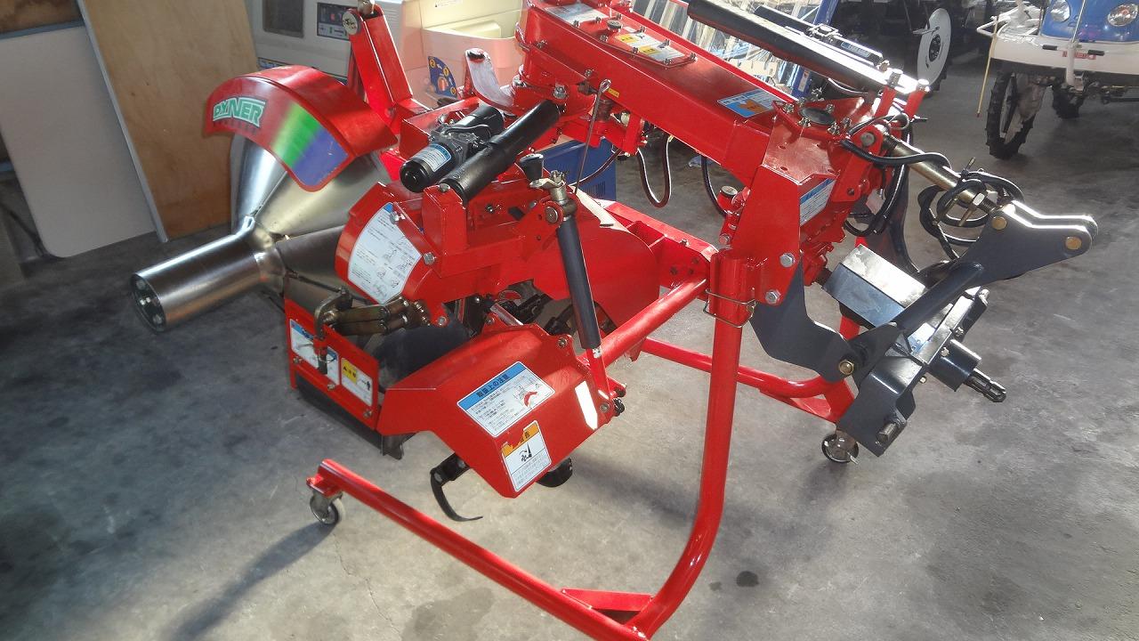 中古畔塗り機 コバシ RKL751F 電動リバース クボタBヒッチ