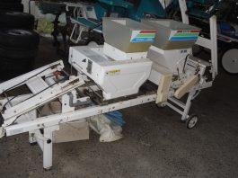 中古播種機 スズテック 300枚タイプ HK305 土入れ機能付 播種量無段階