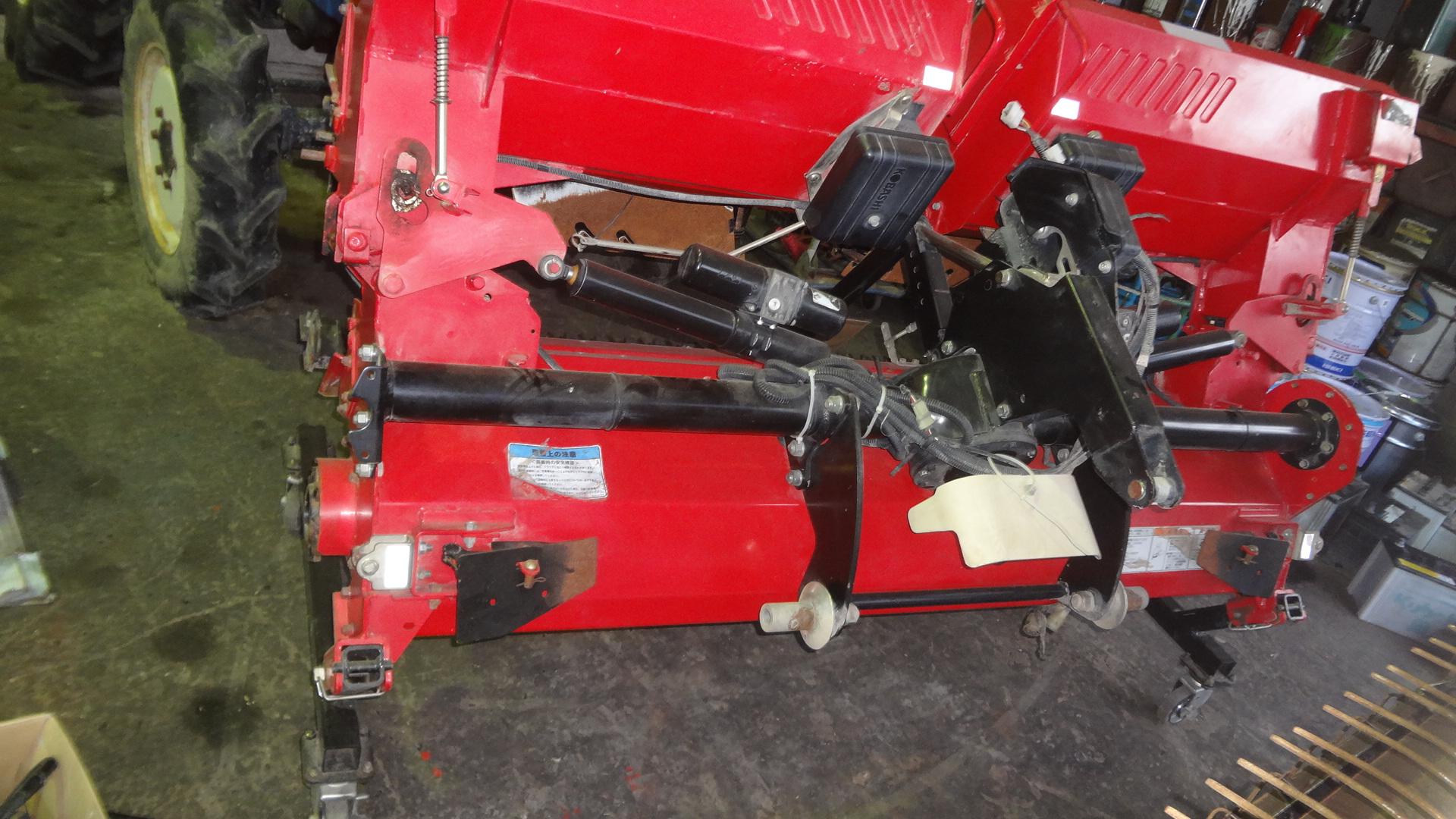 中古ハロー コバシ 3つ折れ 3.5m TX350E 日農工0Sヒッチ 電動