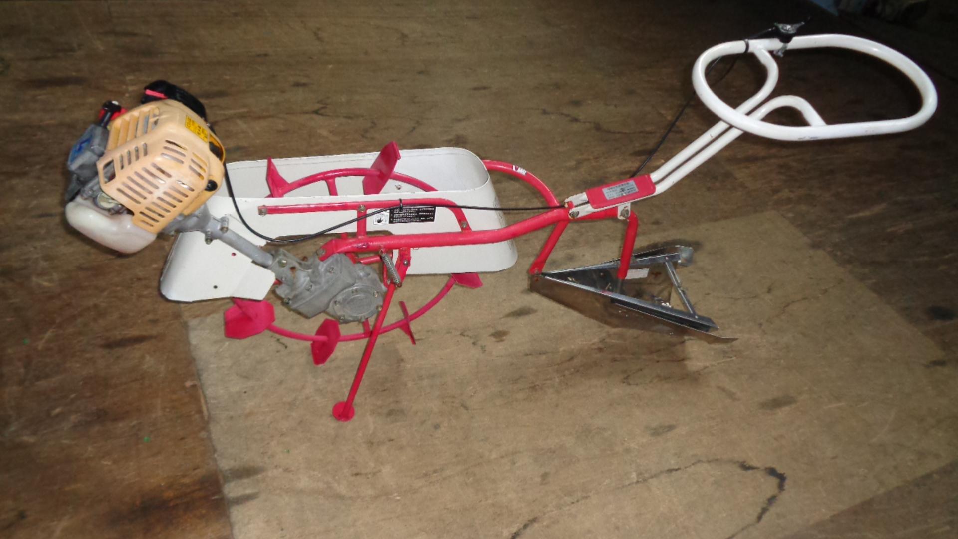 中古溝切機 ロビン(オータケ) CHH25D 4サイクルエンジン